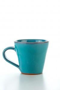 Original handgemachte Keramik Mokka Tasse von der Insel...