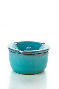 Original handgemachte Keramik Wind Aschenbecher von der...