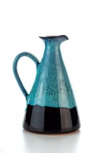 Original handgemachte Keramik Olivenöl Kanne von der...