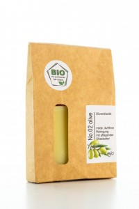 No.02 Bio Olivenölseife mit Shea-Butter