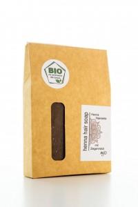 Mijo HENNA Haarseife mit Bio Olivenöl, Ziegenmilch & Rosmarin
