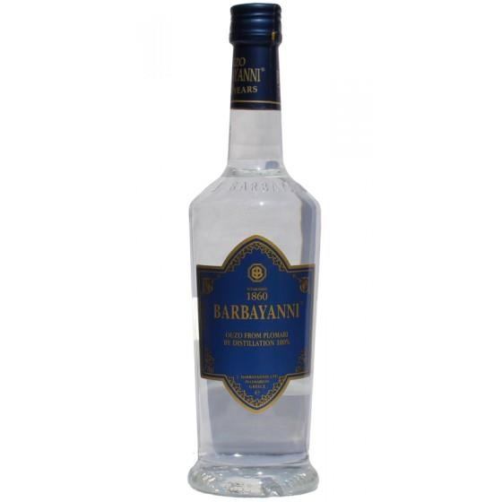Barbayanni Ouzo blau 43% 200ml Flasche