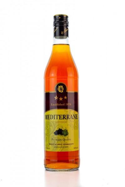 Mediterrane Branntwein 3 Sterne 36% 700ml Gatsios
