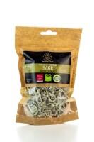 v4vita BIO griechischer Salbei auch als Salbei-Tee verwendbar (25g) von der Insel Kreta
