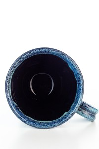 Hydria Original handgemachte Keramik Tasse Trapez von...