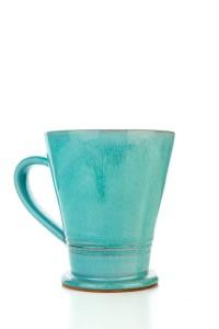 Hydria Original handgemachte Keramik Tasse Trapez...
