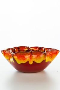 Hydria Original handgemachte Schale Blume klein von Kreta...