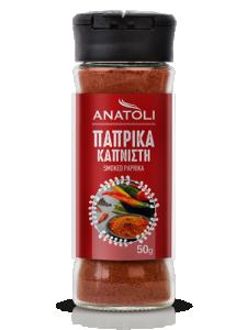Anatoli geräucherte Paprika 50g in Streuer