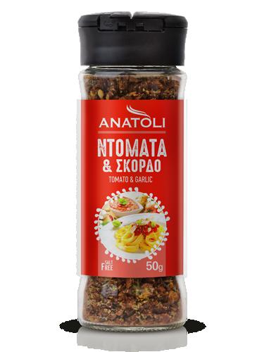 Anatoli Mix Tomate Knoblauch 50g in Streuer