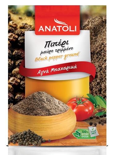Anatoli schwarzer Pfeffer 50g Beutel