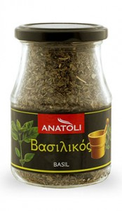 Anatoli Basilikum 55g in Glas