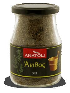 Anatoli Dill 45g in Glas