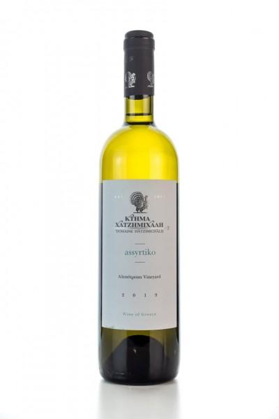Assyritiko Alepotrypa Weißwein trocken (750ml/14,5%) Hatzimichalis