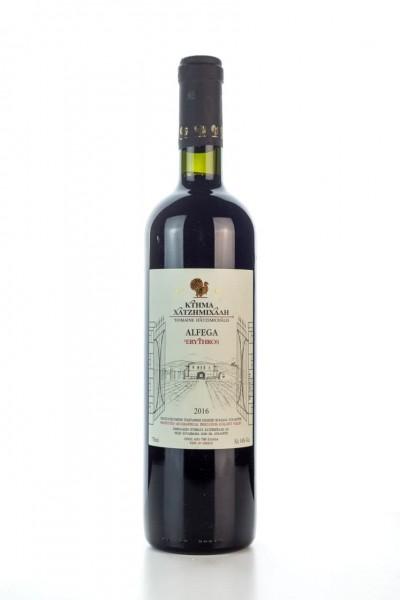 Alfega Rotwein trocken (750ml/14%) Hatzimichalis