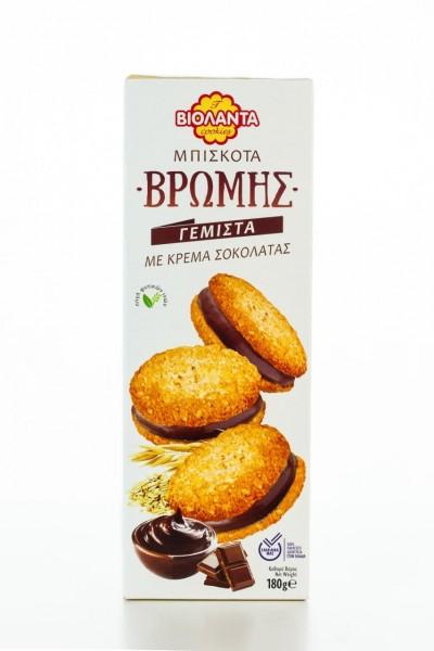 Haferkekse mit Schokolade 180g von Violanta