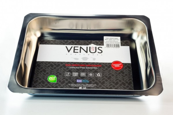 Blechform Rechteckig 18/C Nr. 3 (29x39x6,5) von Venus Houseware
