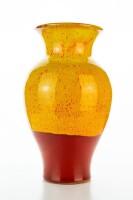 Hydria Original handgemachte Vase groß 25cm von Kreta - rot