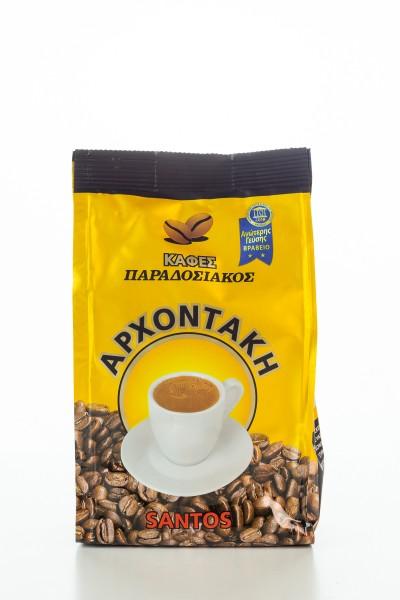 Kaffee Mokka Traditional 192g Beutel von Archontakis