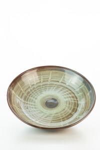 Hydria Original handgemachte flache Schale 23cm von Kreta...